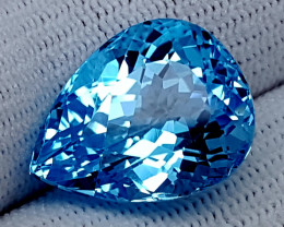 20.40CT BLUE TOPAZ  BEST QUALITY GEMSTONE IIGC11