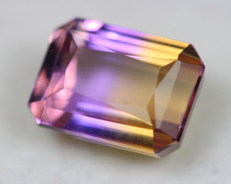 8.07Ct Bi Color Ametrine Emerald Cut Lot Z353