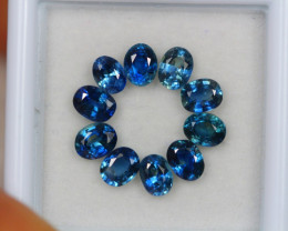 3.22Ct Blue Sapphire Oval Cut Lot Z362