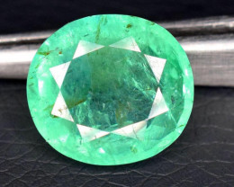 certified 8.92 Carats Top Quality  Emerald Gemstone from Afghanistan