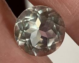 Round Cut Green Amethyst  (Prasiolite) - NO RESERVE AUCTION