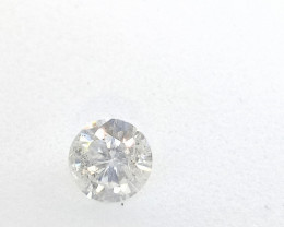 0.46ct J-SI3 Diamond , 100% Natural Untreated