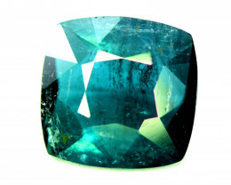 2.75 CT  Indicolite Color Natural Tourmaline Gemstone