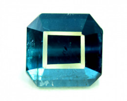 3.00 CT  Indicolite Color Natural Tourmaline Gemstone