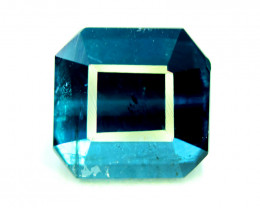 3.00 CT  Indicolite Color Natural Tourmaline Gemstone