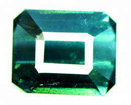 2.70 CT Green and Indicolite Color Natural Tourmaline Gemstone