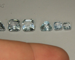 Natural Aquamarine Gemstone Lot Very Beautiful Color