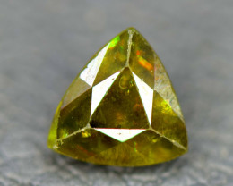 NR Auction - 1.25 Carats AAA Color Full Fire Natural Chrome Sphene Loose Ge