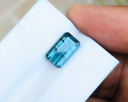 2.90 Ct Natural Blueish Transparent Tourmaline Gemstone