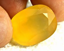 23.99 Carat Golden Yellow Mexican Fire Opal - Gorgeous