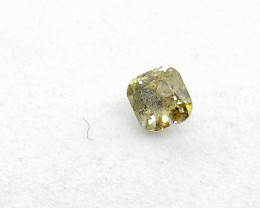 0.20ct  Fancy Light Green Diamond , 100% Natural Untreated