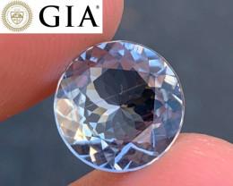 *NR* GIA 5.95 ct Fibrolite (Sillimanite) - VVS++ Rare Gemstone!