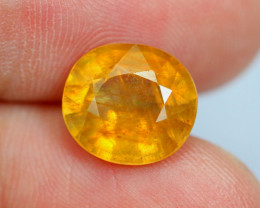 5.40cts Natural Yellow Colour Saphhire / BT38
