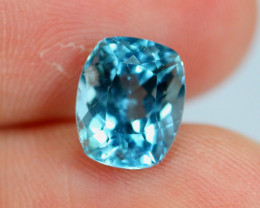 2.45cts Natural Vivid Blue Colour Aquamarine / BT41