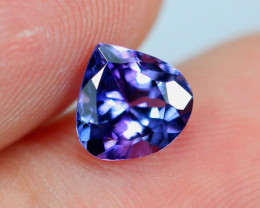 1.18cts Natural Violet Blue D Block Tanzanite / BT42