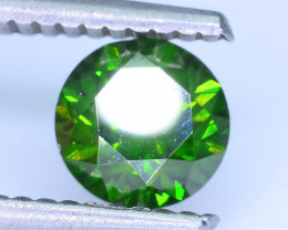 AIG Certified 0.97 ct I1 Clarity Green Diamond SKU-13