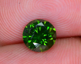 AIG Certified 0.94 ct I1 Clarity Green Diamond SKU-13