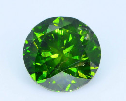 CERTIFIED 0.91 ct Green Diamond SKU-13