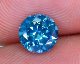 AIG Certified 0.94 ct I1 Clarity Blue Diamond SKU-13