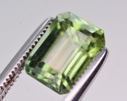 Top Color 2.50 Ct Natural Green Tourmaline From Afghanistan. RA4