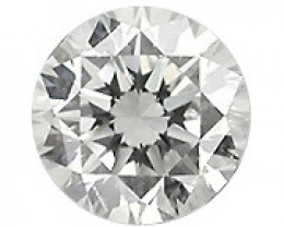 0.07 Carat Natural Round Diamond (G/VS) -  2.60 mm