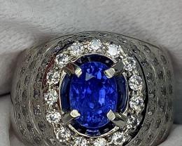 Rare Certified Unheat Sapphire Color Change Jewelry