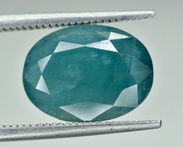 4.71 Crt Natural Rare Grandidierite Faceted Gemstone.( AG 62)