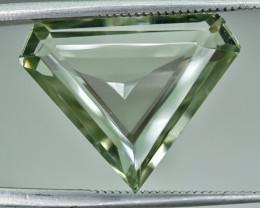 10.95 Crt Natural Prasiolite Green Amethyst Faceted Gemstone.( AG 62)