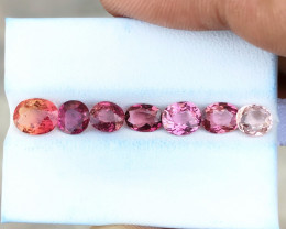 4.70 Ct Natural Pinkish Transparent Tourmaline Gems Parcels