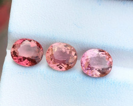 3.95 Ct Natural Pinkish Transparent Tourmaline Gemstones