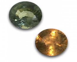 Natural unheated Color Change sapphire  Loose Gemstone New  Sri Lanka