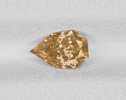 Diamond, 0.59ct - Mined in South Africa   Certified by IGI