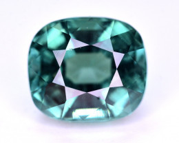 Superb Color 4.10 Ct Greenish Blue Tourmaline From Afghanistan