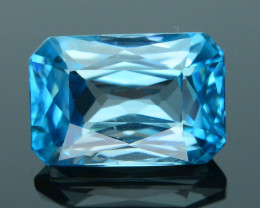 AAA Grade 6.86 ct Blue Zircon Cambodia SKU.5