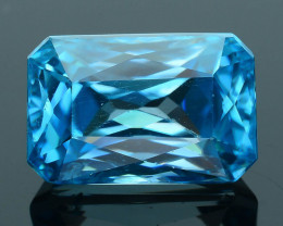 AAA Grade 6.44 ct Blue Zircon Cambodia SKU.5