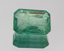 1.96 ct Emerald Octagon 8.7x6.5mm (SKU 96)