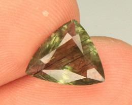 Wow Peridot hair-like Ludwigite inclusions From Pakistan