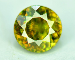 0.80 CT Natural Full Fire Sphene Titanite Gemstone