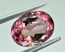 2.93 Crt Natural Tourmaline Faceted Gemstone.( AG 63)