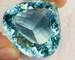 67.69 Ct Natural Paraiba Tourmaline Gemstone