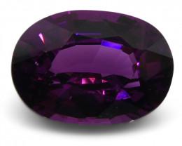 1.66 ct Rhodolite Garnet Oval Fine Purple (Rhodolite/Umbalite)