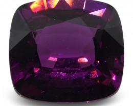 2.01 ct Rhodolite Garnet Cushion Fine Purple (Rhodolite/Umbalite)