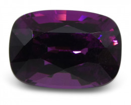 1.85 ct Rhodolite Garnet Cushion Fine Purple (Rhodolite/Umbalite)