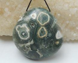 234.5ct Ocean Jasper Pendant ,Natural Ocean Jasper ,Gemstone Pendant ,Whole