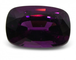 1.83 ct Rhodolite Garnet Cushion-$1 NR Auction