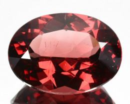22.20Ct Natural Peach Red Apatite Oval Brazil
