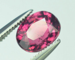 Top Color 1.50 ct Malawi Raspberry Pink Umbalite Garnet