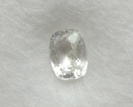 GIL Certified White Sapphire 0.90cts.