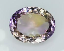 13.85 Crt Ametrine Faceted Gemstone (R9)