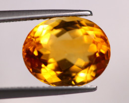 5.05Ct Natural Yellow Citrine Oval Cut Lot LZB641